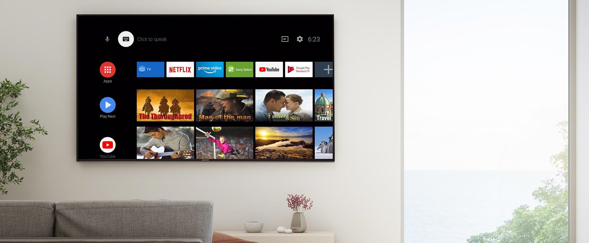 تلویزیون 49 اینچ سونی مدل 49X7500H