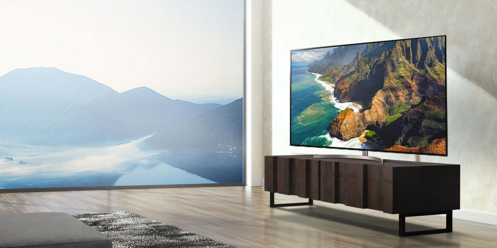 تلویزیون 55 اینچ ال جی مدل 55UN7440
