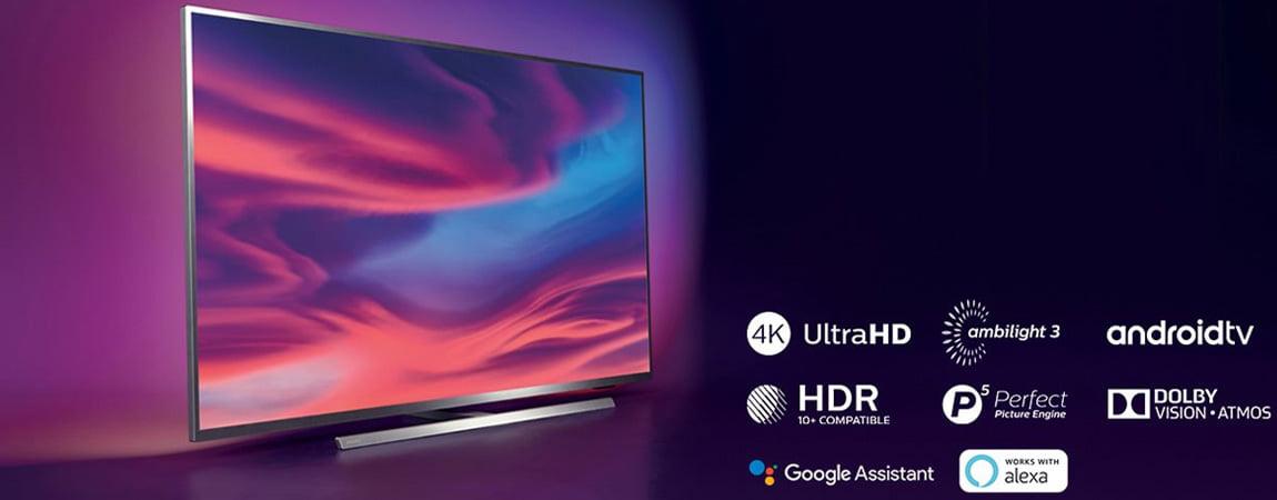 تلویزیون 65 اینچ فیلیپس مدل 65PUS7374
