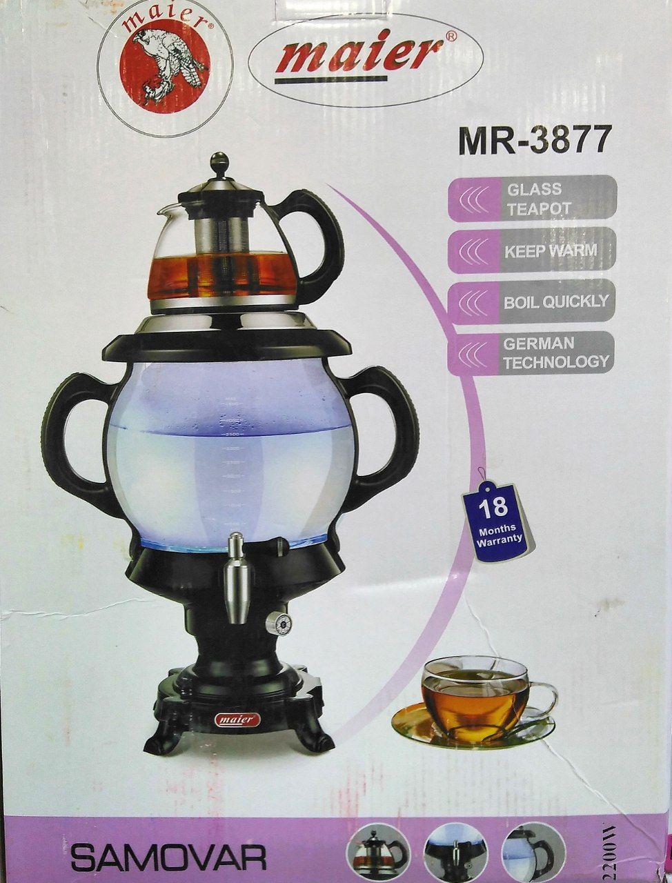 مشخصات سماور برقی مایر مدل MR-3877