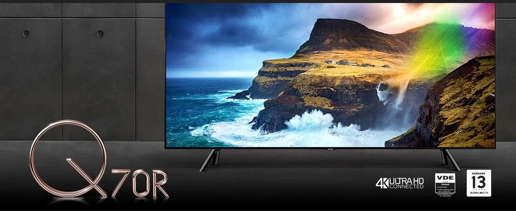 مشخصات تلویزیون 75 اینچ سامسونگ مدل 75Q70R