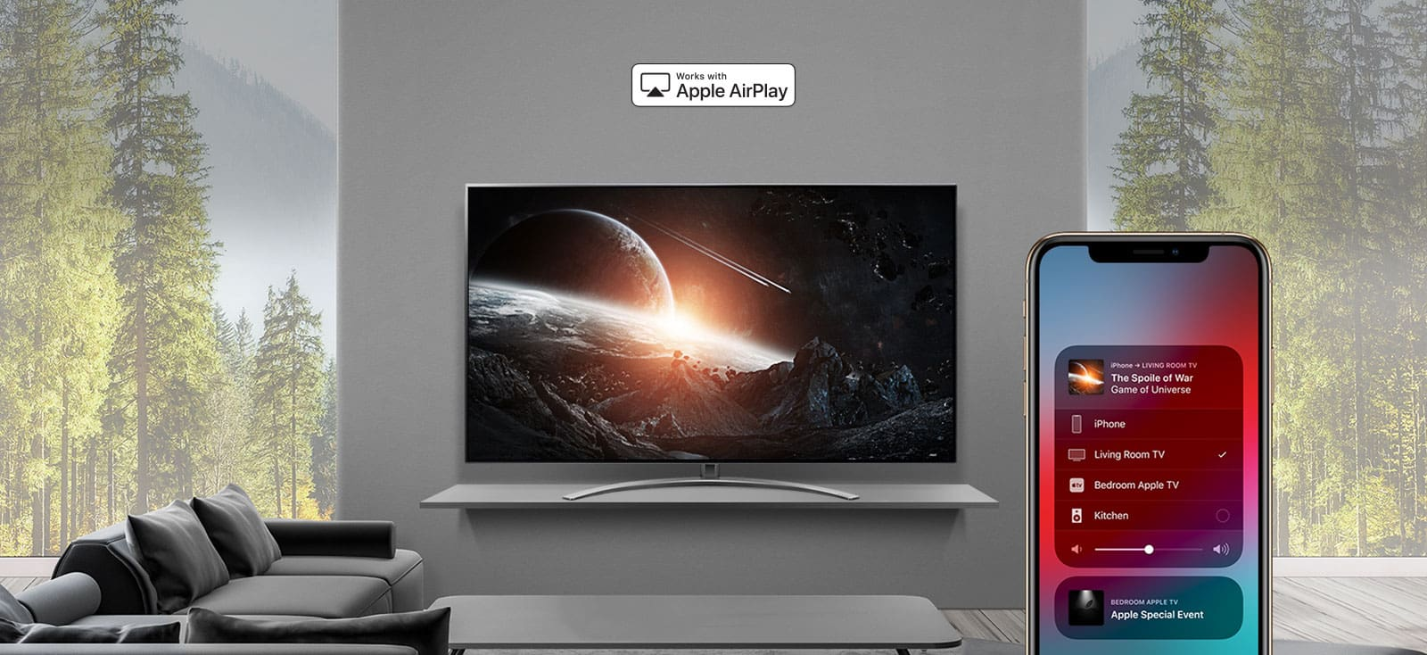 قیمت تلویزیون 55 اینج ال جی مدل 55SM9500