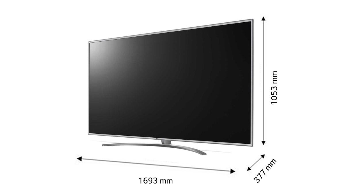 قیمت تلویزیون 75 اینچ ال جی مدل 75UM7600