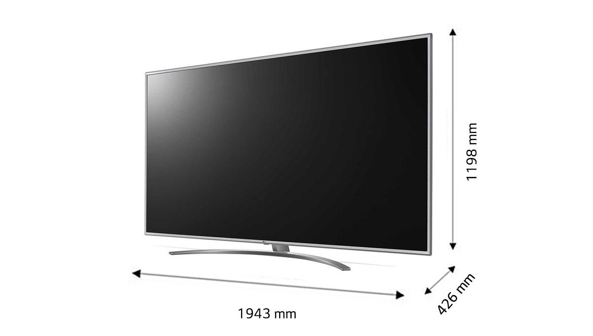 قیمت تلویزیون 86 اینچ ال جی مدل 86UM7600
