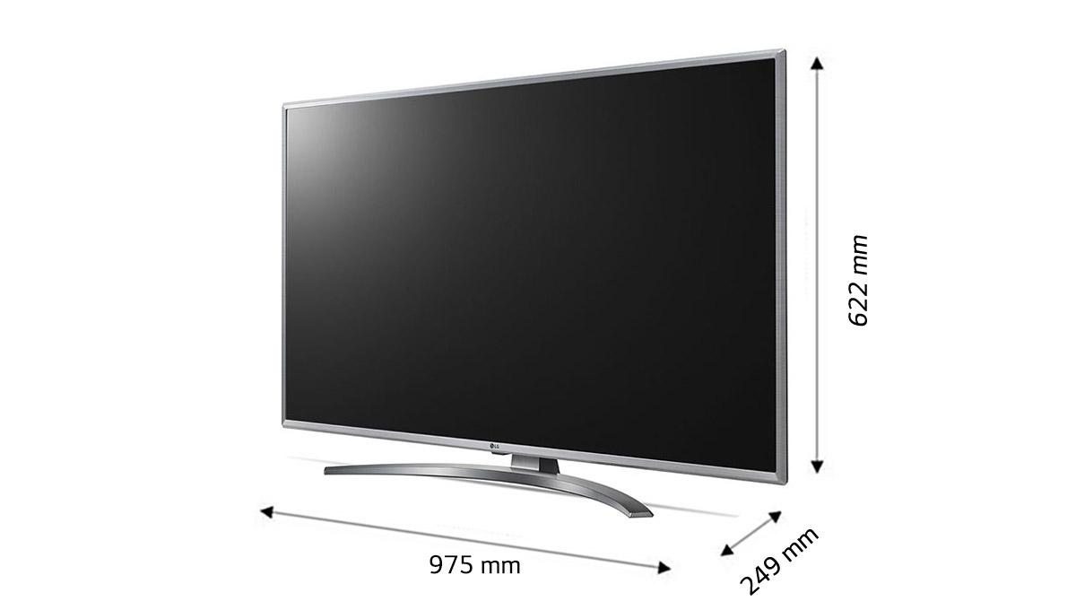 قیمت تلویزیون 43 اینچ ال جی مدل 43UM7600