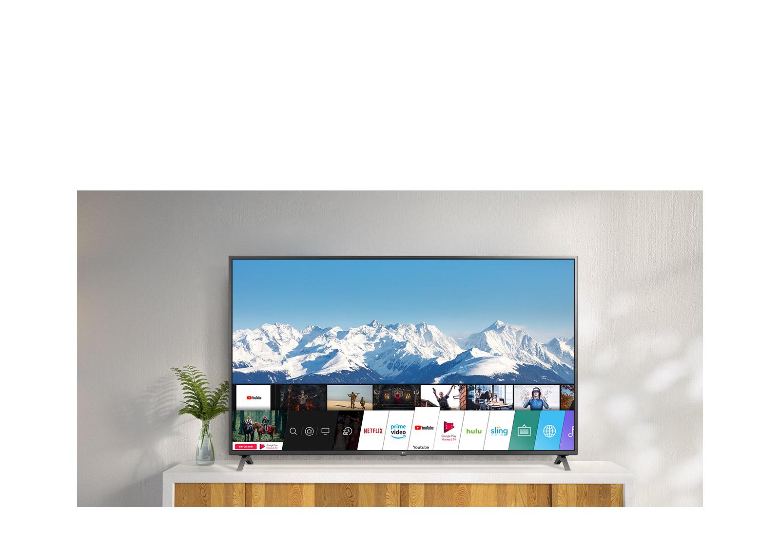 قیمت تلویزیون 55 اینچ و 4K ال جی مدل 55UN8060