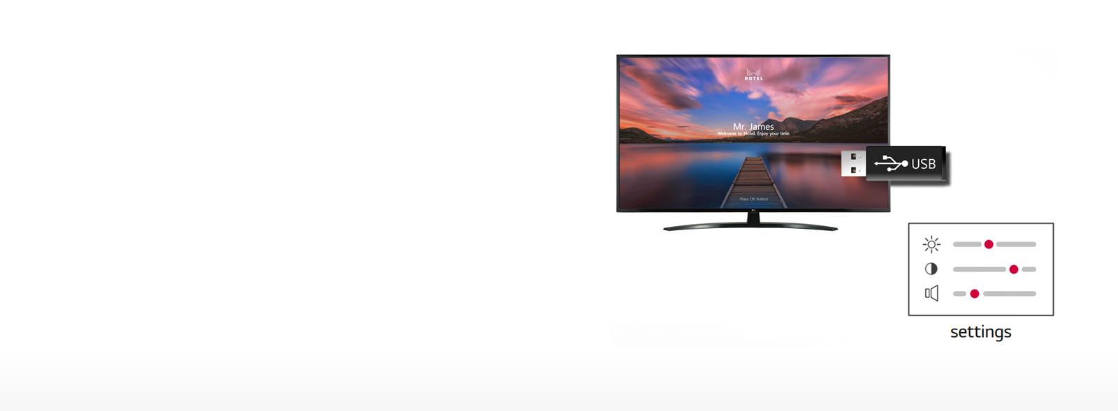 مشخصات تلویزیون 49 اینچ ال جی مدل 49UT661