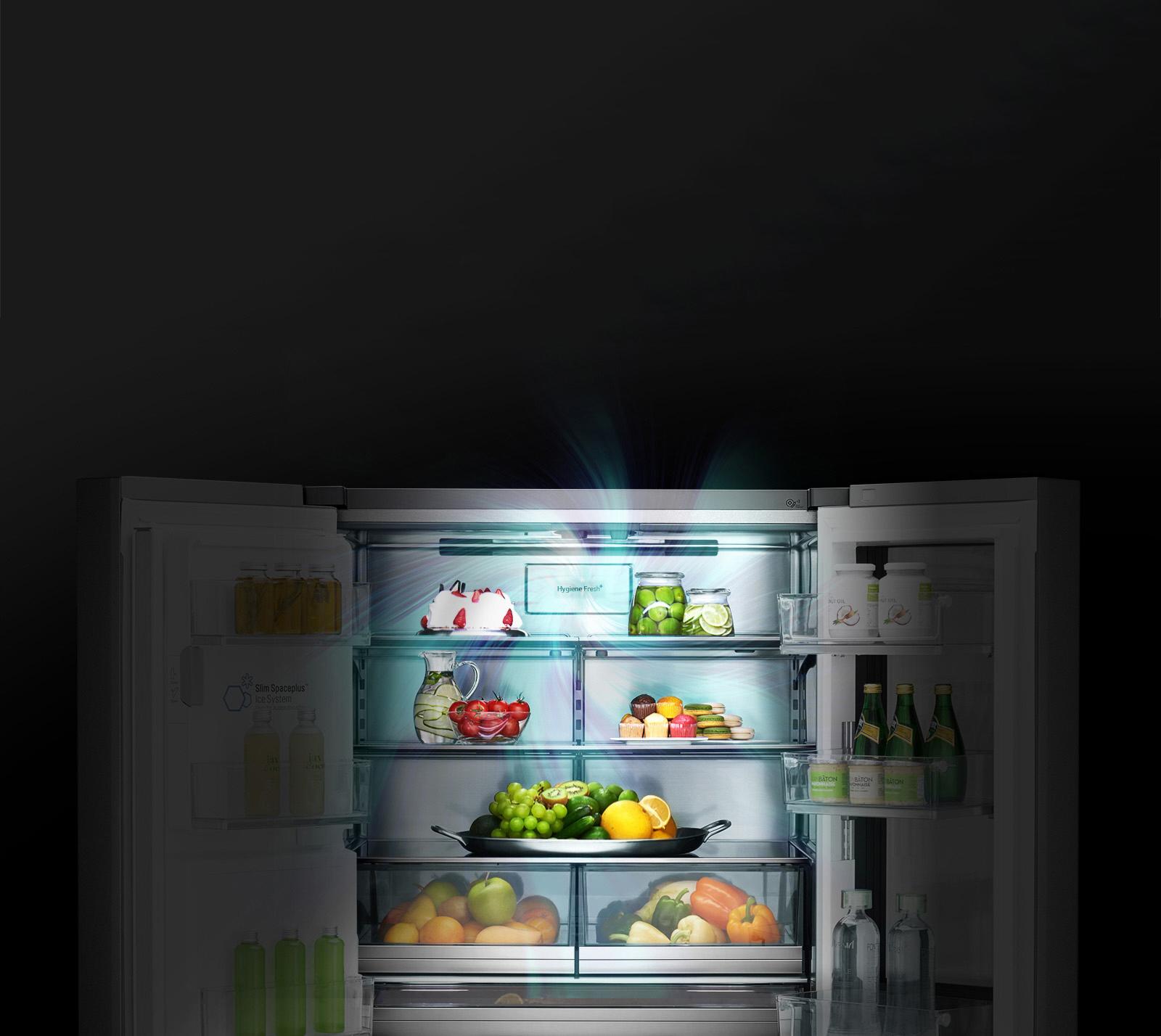 قیمت یخچال سایدX33 ال جی