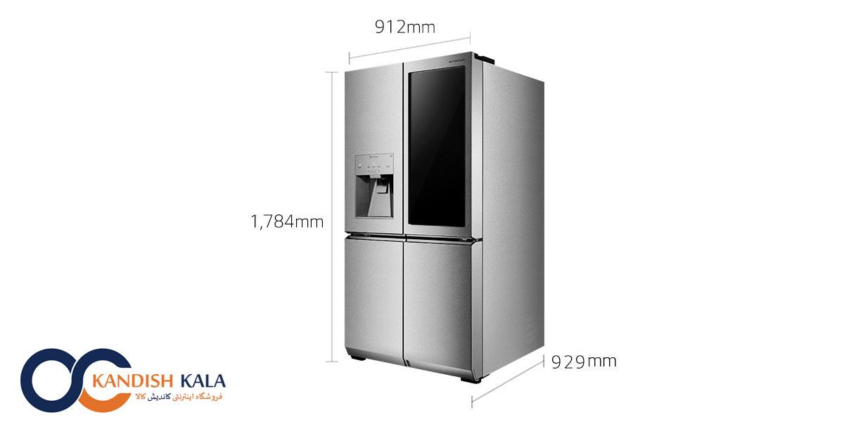 قیمت یخچال ساید X33 ال جی