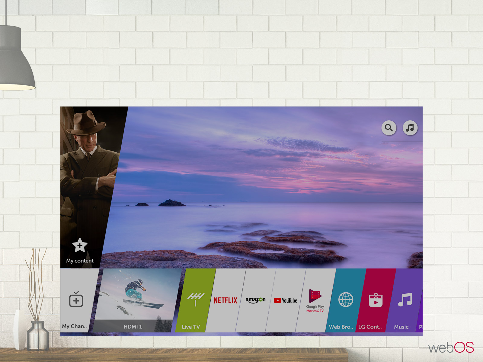 قیمت تلویزیون 75 اینچ و 4K ال جی مدل 75UK7000جی مدل 70UK7000