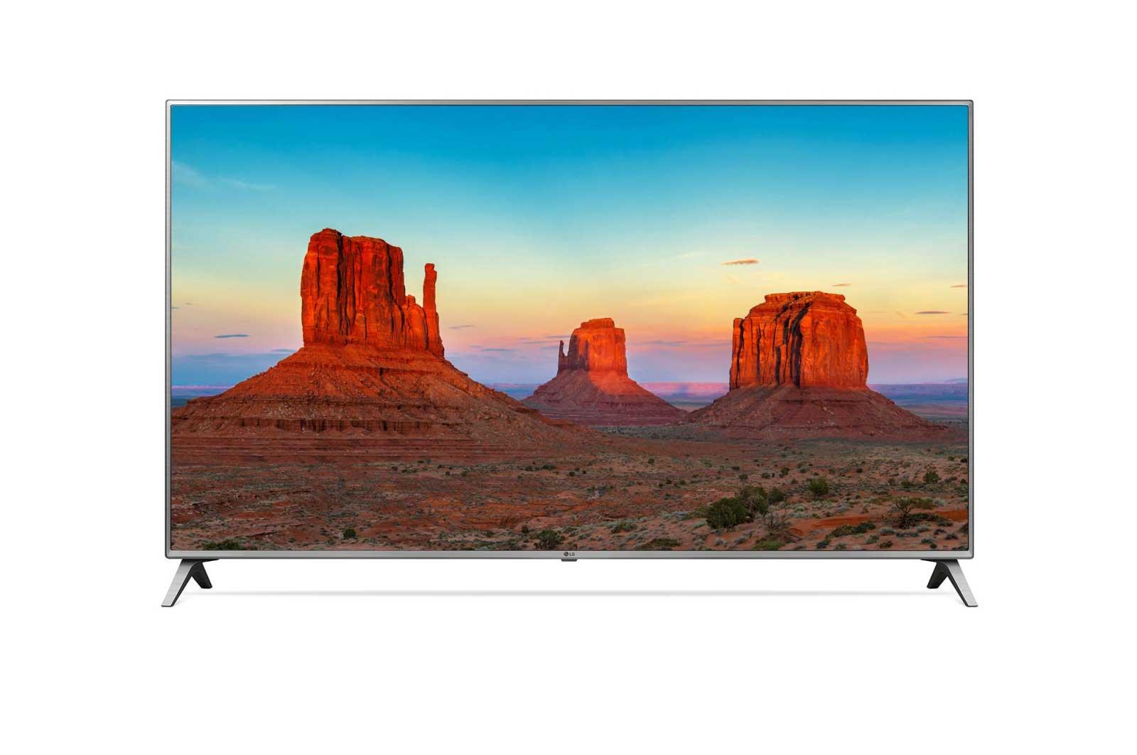 قیمت تلویزیون 75 اینچ و 4K ال جی مدل 75UK7000